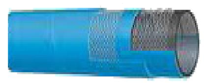 T509 UHMWPE Acid/Chemical S&D Hose - 240 PSI