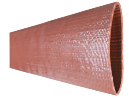 Red'Heavy Duty' PVC Water Discharge Hose