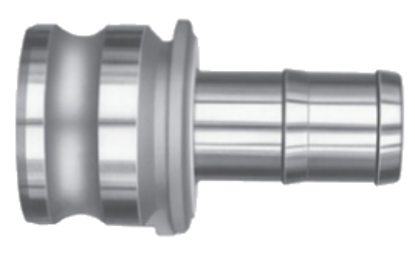 Part E - Reducer Male Cam X Hose Shank