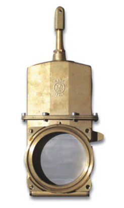 Brass Knife Gate Valve - MZ