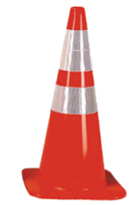 "#RS70032CT3M 64 28"" Cone W/Reflective"